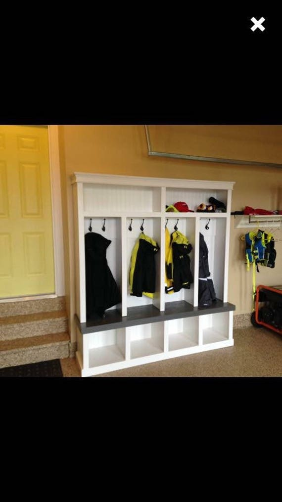 Mudroom Storage Lockers Canada : Entryway locker cubby mudroom