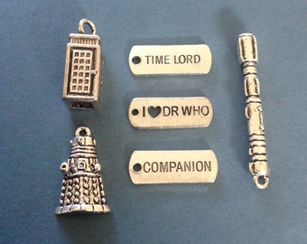 Dr Who style  charms