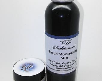 Juicy Peach Moisturizing Spray & Body Butter Kit