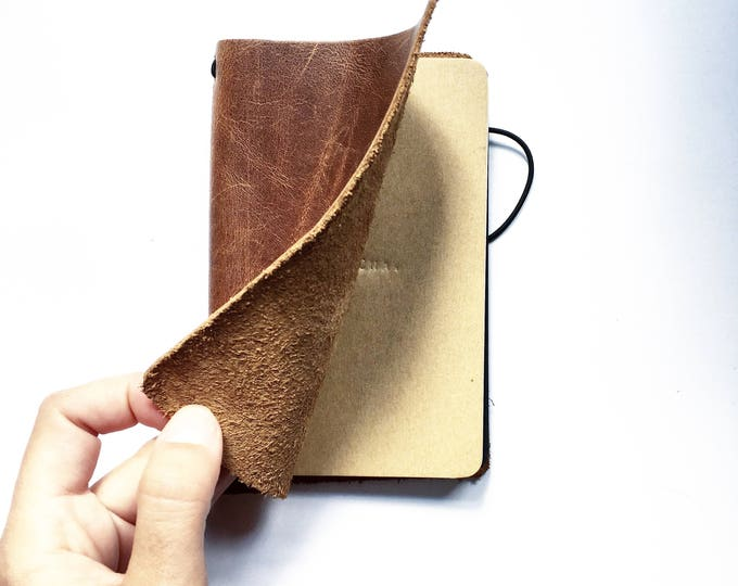 Featured listing image: Leather pouch / Wallet / Leather pocket / Léonny Cha