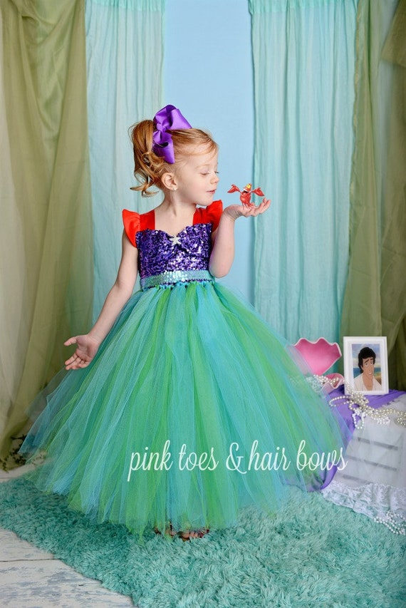 Little Mermaid Tutu Dress