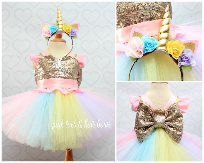 2b1fbaaa6 Unicorn dress-unicorn tutu dress-unicorn birthday | Etsy