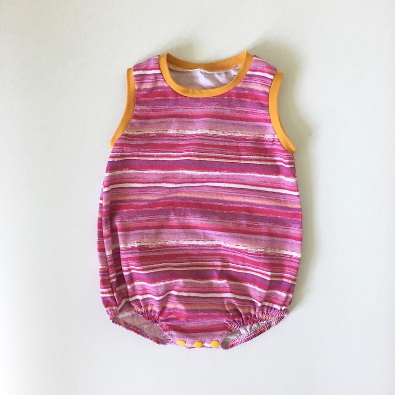 38a8c9b28da 18-24M Baby Rainbow Romper Bubble Romper Baby Romper