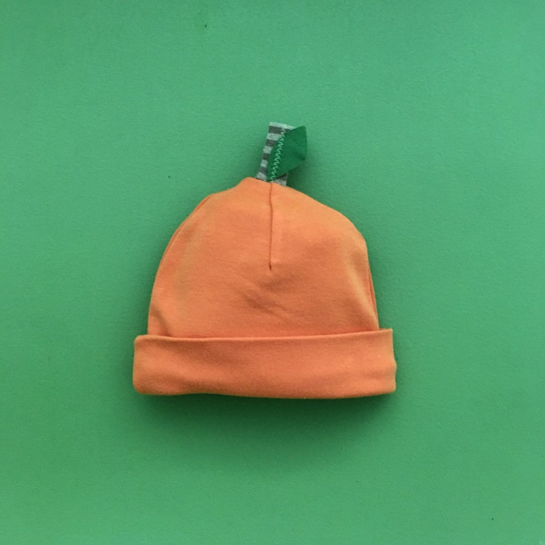 728b7f8610e Baby Pumpkin Hat Baby Fruit Hat Toddler Pumpkin Hat Baby