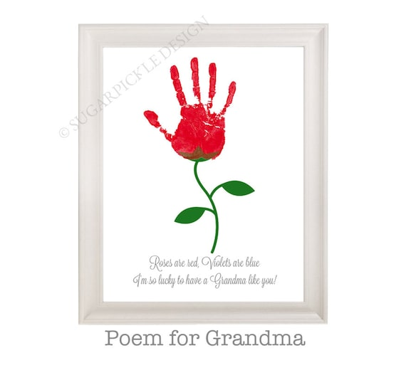 Gift For Grandma Grandmas Birthday Personalized