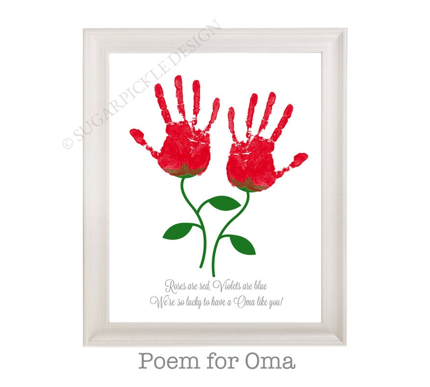 Gift for Oma Oma\'s Birthday Gift Mother\'s Day gift | Etsy