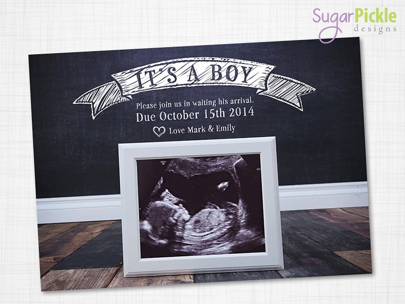 photograph regarding Free Printable Pregnancy Announcement Cards referred to as Being pregnant Announcement Card, Ultrasound Announcement, Its a boy, Being pregnant announcement, Being pregnant Announcement Principle, Printable Being pregnant