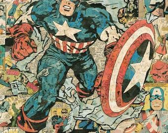 Captain America Giclee Print