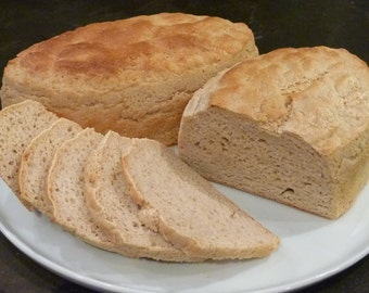 Sourdough Bread (Gluten-free, Soy-free, Vegan, Sugar-free)