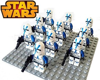 LEGO STAR WARS Compatible 21x Bomb Squad Clone Troopers Mini Figures