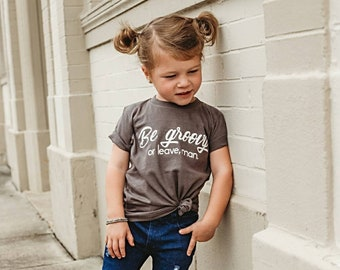 Be Groovy or Leave, Man. Baby Bodysuit Toddler Kids T Shirts With Sayings Infant Newborn Baby Boy Baby Girl Clothes Clothing Gift Liv & Co.™