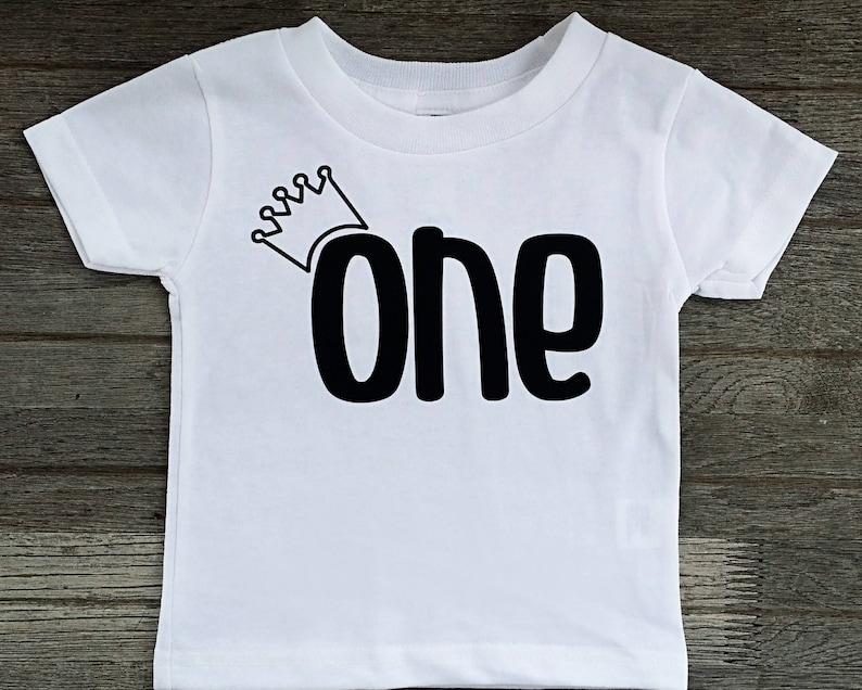 50ec553bb1e4 1st Birthday Boy Outfit Boy 1st Birthday Shirt First