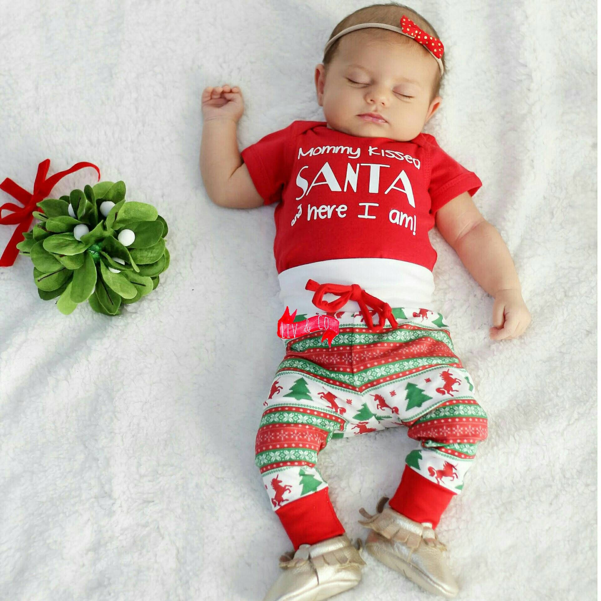 Baby Clothes Baby Christmas Outfit Baby Boy Christmas  df416fb8c0