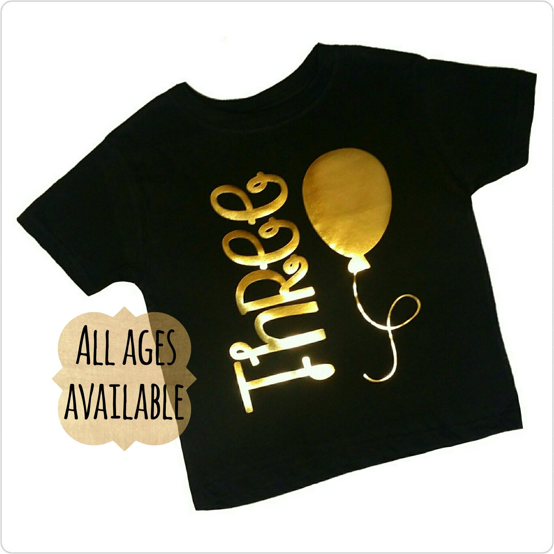 3 Year Old Birthday Girl Shirts