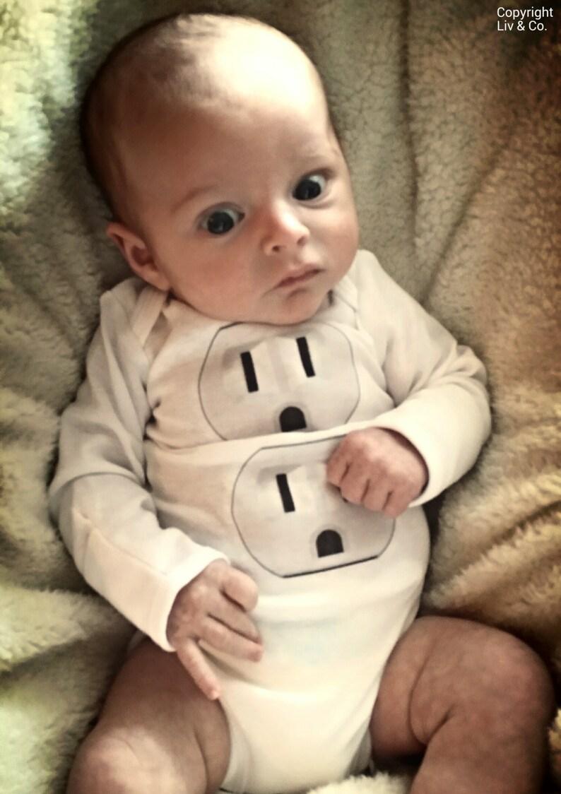 Funny Newborn Infant Baby Boy or Girl Halloween Costume image 0