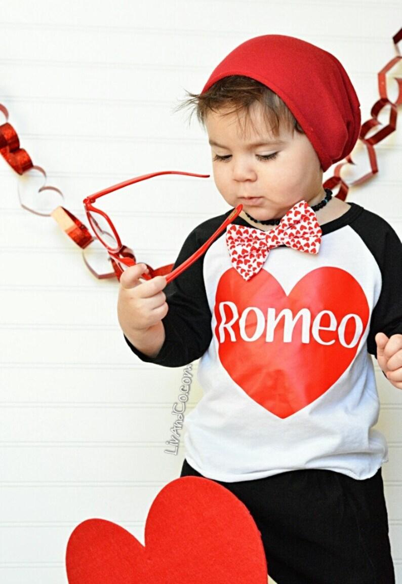 e6f66299c912 Romeo Baby Boy Valentine Shirt Toddler Boy Valentines Day