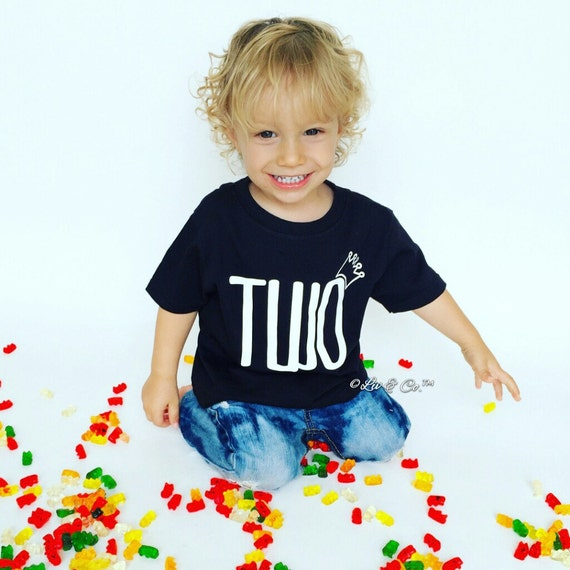 Two Shirt 2 Year Old Birthday 2nd Boy Second Bday CLiv CoTM