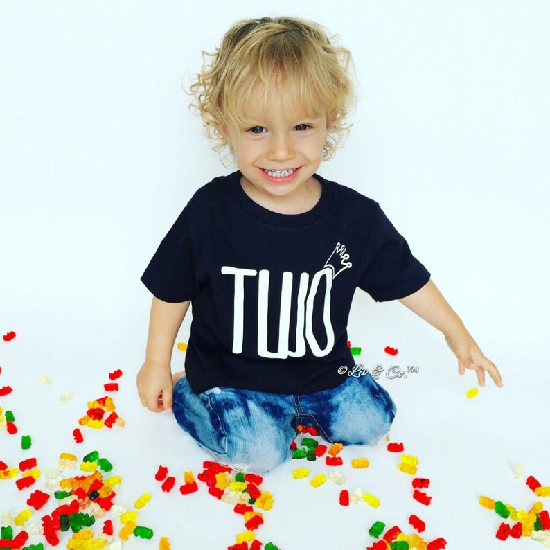 Two Shirt 2 Year Old Birthday 2nd