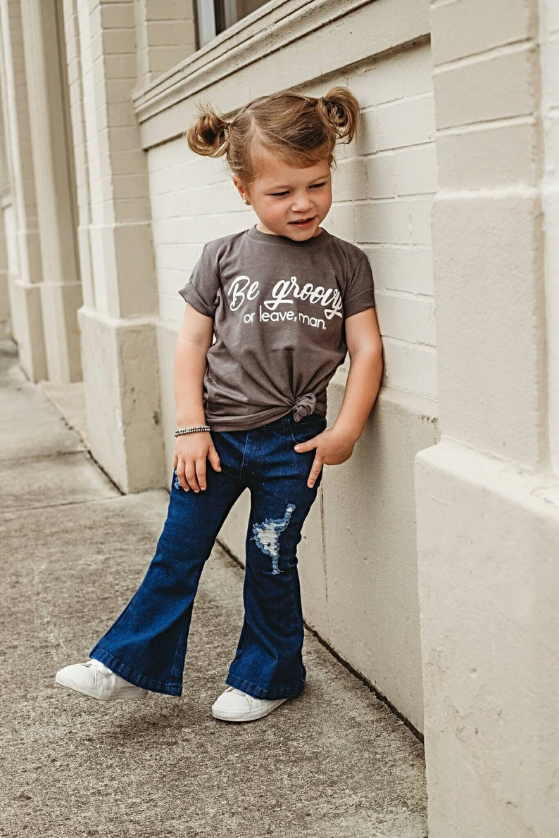 Be Groovy or Leave Man. Baby Bodysuit Toddler Kids T Shirts image 0
