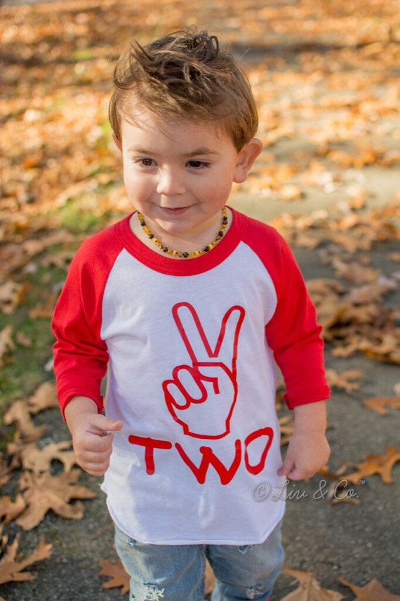 Two Year Old Birthday Shirt Boy Or Girl 2nd