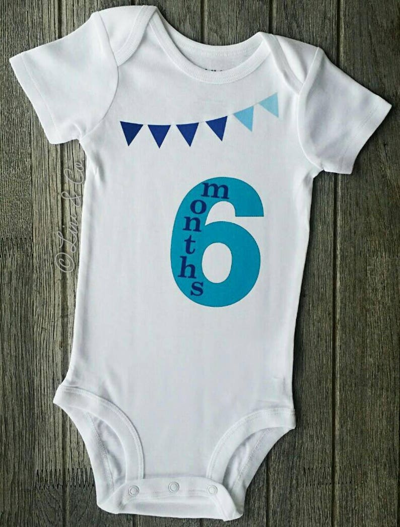 1f68f1bcc 6 Months Old Baby Outfit Half Year Birthday Boy Baby Boy