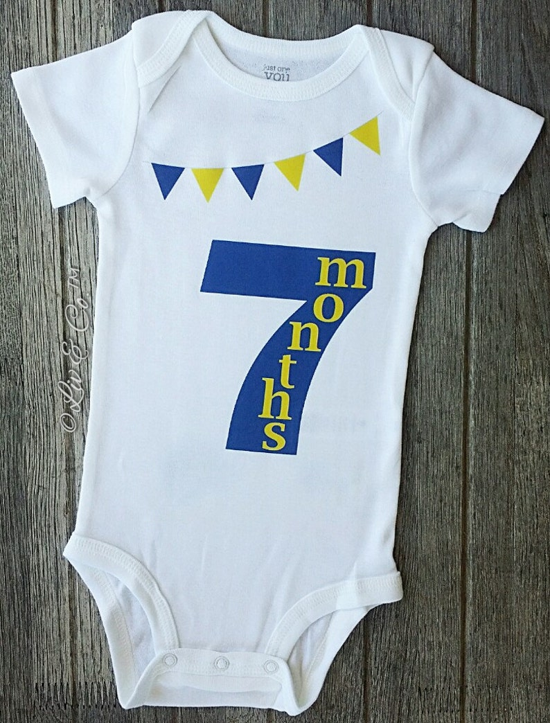 bb6d9154766f9 Baby Boy Clothes Baby Girl Clothes 7 Months Old Baby Romper | Etsy