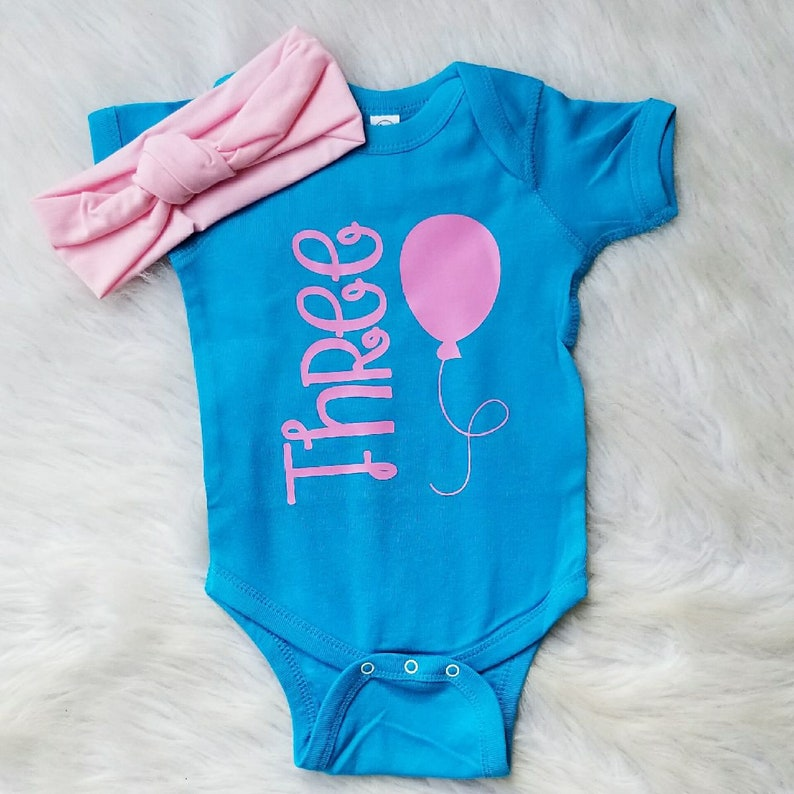 3 Monate Baby Madchen Foto Outfit Drei Monat Geburtstag Outfit Etsy
