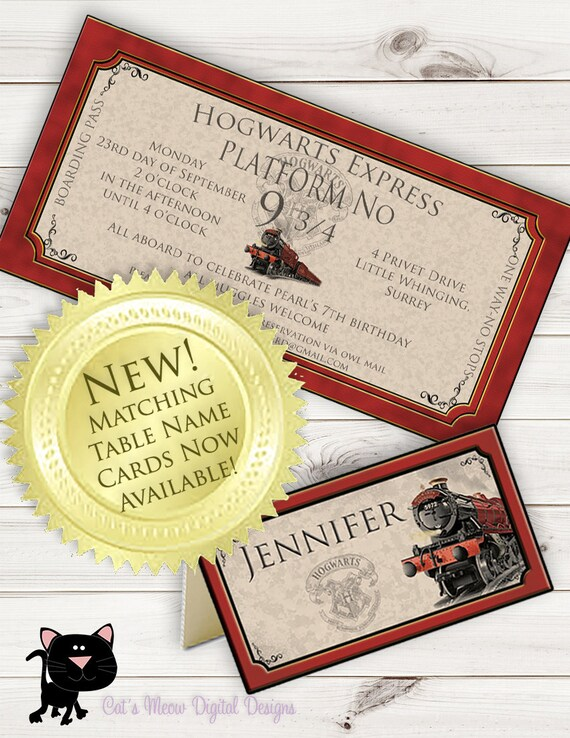 Hogwarts harry potter birthday invitation printable etsy image 0 filmwisefo