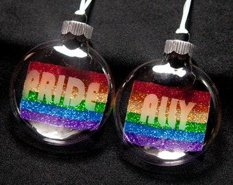 LGBTQ+ Pride and Ally Ornaments