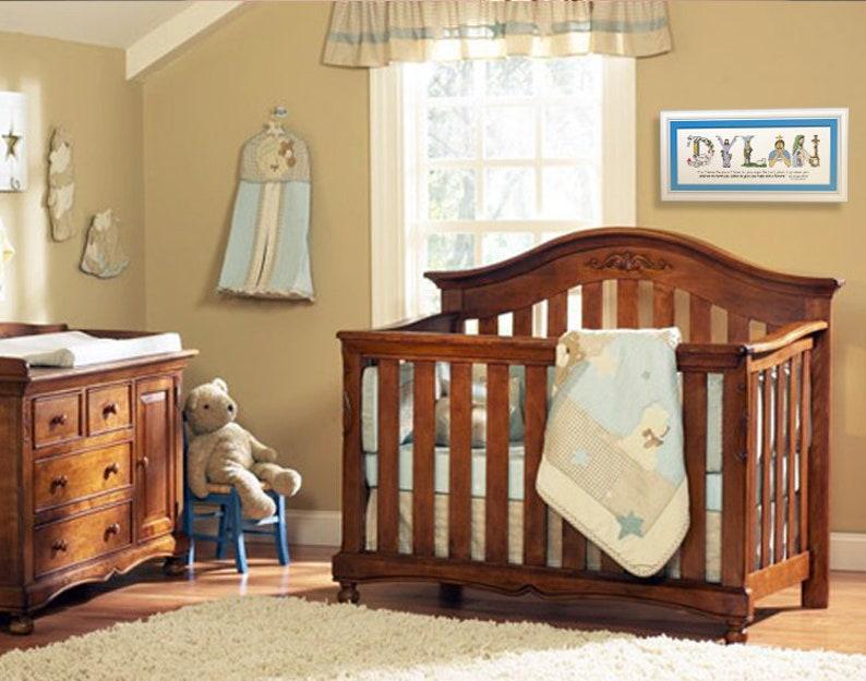 Catholic Baptism Gift for Baby Boys or Baby Girls 10x20 | Etsy