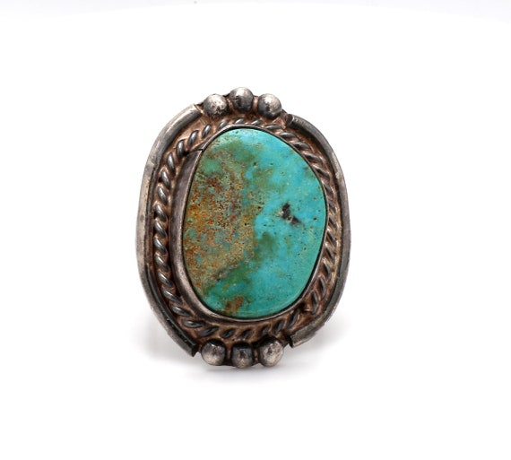 Vintage, Sterling Silver and Turquoise Ring