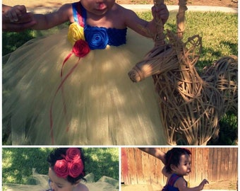 Snow White Tutu Dress - snow white -