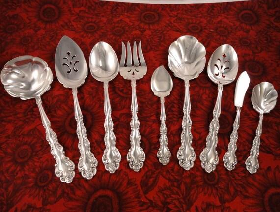 """South Seas by Community Plate Silverplate Pierced Tablespoon Fancy 8 1//2/"""""""