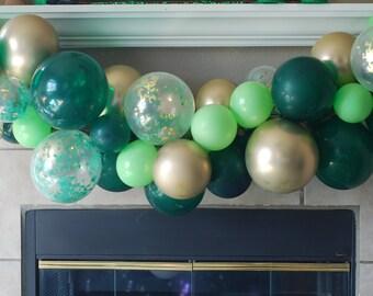 Jungle Party Backdrop Theme Safari Balloon Garland Kit Birthday Boogie Luau