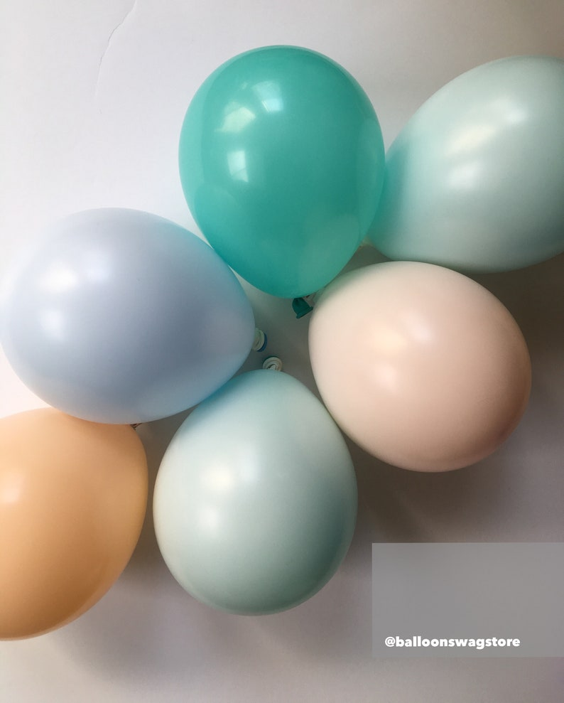 Matte Balloons Pregnancy Announcement Personalization Available BOY Oh Boy Pastel Baby Shower 11 Pastel Balloons Pastel Unicorn 5