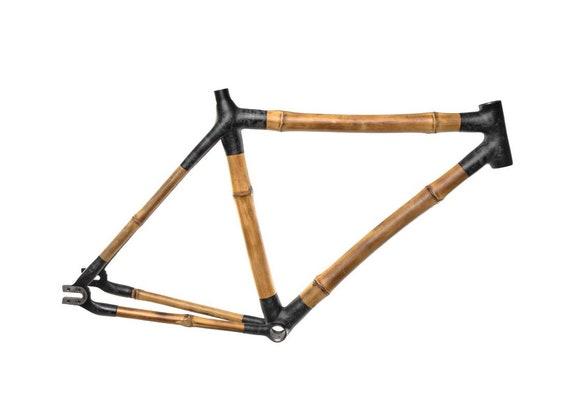 CITY BIKE Insurgentes Bamboo Bicycle Frame 700c Single Speed | Etsy
