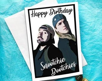 Jay and Silent Bob Funny Birthday Card