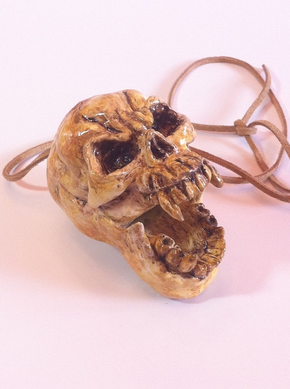 Aztec Death Whistle - The Skull -  Aztec Death Whistle, Mayan Death Whistle, Aztec Culture