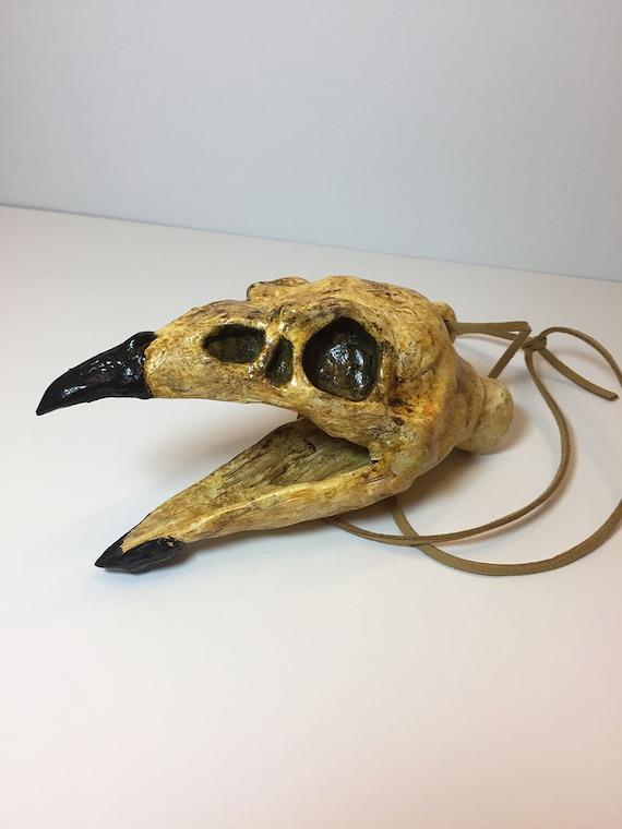 Aztec Death Whistle - The Raven-  Aztec Death whistle, Mayan Death whistle, Aztec culture