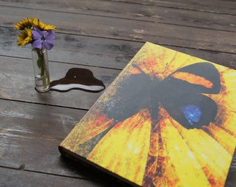 "Hand bound notebook, journal, diary, butterfly journal diary of personal moments: ""Closeness"""