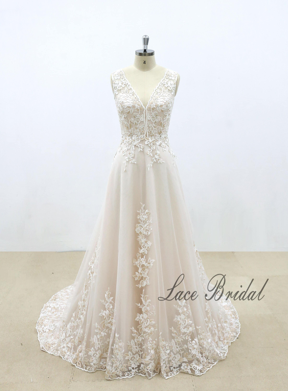 50: Colored A Line Wedding Dress At Reisefeber.org
