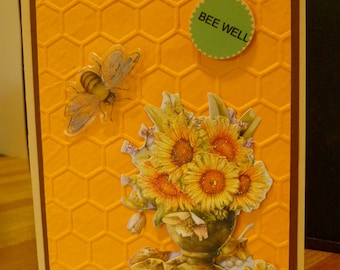 Get Well/Bee Well Card