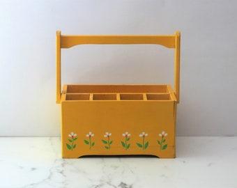 Wooden Desk Caddy Etsy