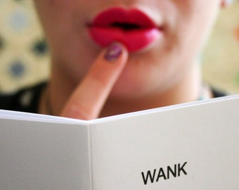 Wank - an illustrated book of female masturbation MATURE, adult zine, gift for lesbian, feminist zine, feminism gift, queer zine, sex book