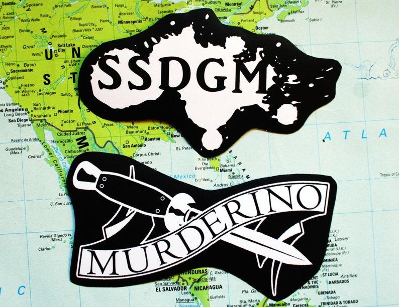 My favorite murder sticker pack - murderino, MFM, stay sexy don't get  murdered, feminist punk serial killers, nasty woman, SSDGM, true crime
