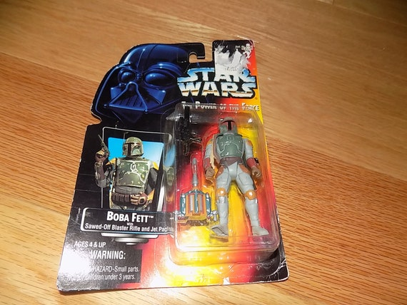 Star Wars Boba Fett Figure 1996 NEW with Jet Pack /& Blaster Sealed