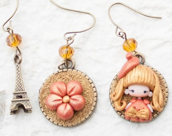 MADE TO ORDER parisian earrings