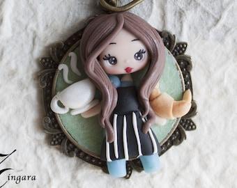 pre-order: MINI ME- CARICATURE- personalized doll- gift idea