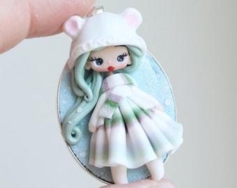 polymerclay pet doll -  zingaracreativa dolls- made to order