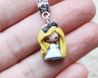 ready for shipping - mini alice  doll charm